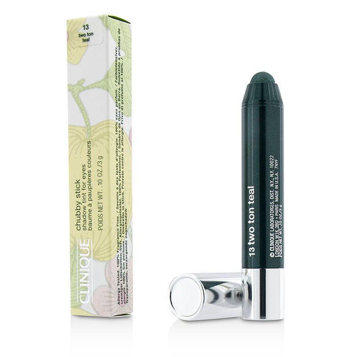 Clinique Chubby Stick Shadow Tint for Eyes - # 13 Two Ton Teal