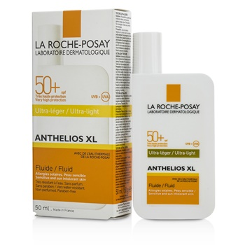 La Roche Posay Anthelios XL 50 Ultra-Light Fluid SPF 50+ - For Sensitive & Sun Intolerant Skin