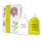 Crabtree & Evelyn Verbena & Lavender Duo: Bath & Shower Gel 250ml + Body Lotion 250ml