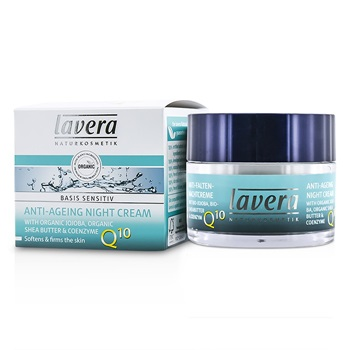 Lavera Basis Sensitiv Anti-Ageing Night Cream Q10