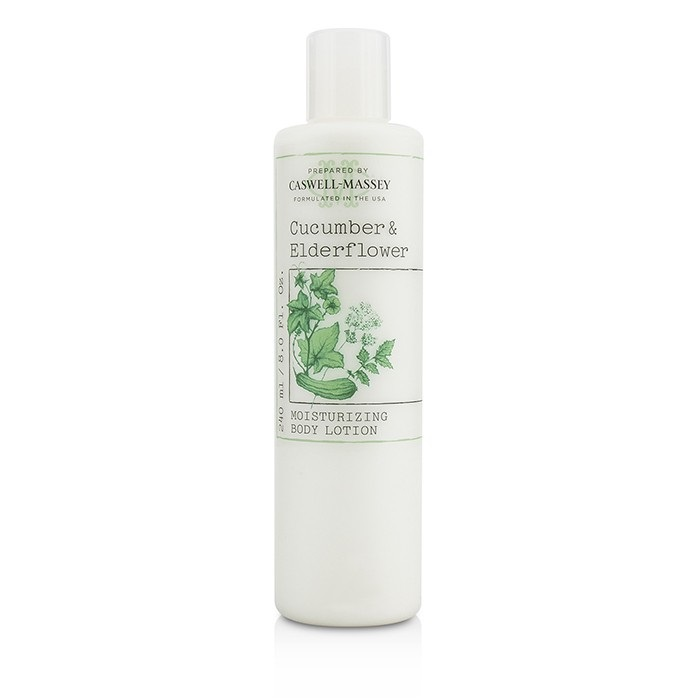 Caswell Massey Cucumber & Elderflower Mositurizing Body Lotion