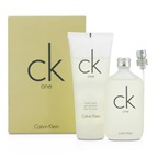 Calvin Klein CK One Coffret: EDT Spray 50ml/1.7oz + Body Wash 100ml/3.4oz