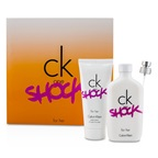 Calvin Klein CK One Shock For Her Coffret: EDT Spray 100ml/3.4oz + Body Lotion 100ml/3.4oz