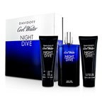 Davidoff Cool Water Night Dive Coffret: EDT Spray 125ml/4.2oz + After Shave Balm 75ml/2.5oz + Shower Gel 75ml/2.5oz