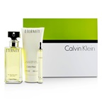 Calvin Klein Eternity Coffret: EDP Spray 100ml/3.4oz + Body Lotion 200ml/6.7oz + EDP 10ml/0.33oz