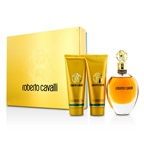Roberto Cavalli Roberto Cavalli (New) Coffret: EDP Spray 75ml/2.5oz + Body Lotion 75ml/2.5oz + Shower Gel 75ml/2.5oz