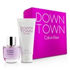 Calvin Klein Downtown Coffret: EDP Spray 90ml/3oz + Body Lotion 200ml/6.7oz (Pink Box)