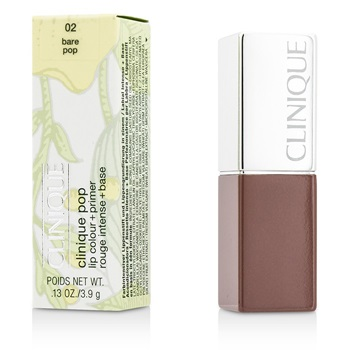 Clinique Clinique Pop Lip Colour + Primer - # 02 Bare Pop