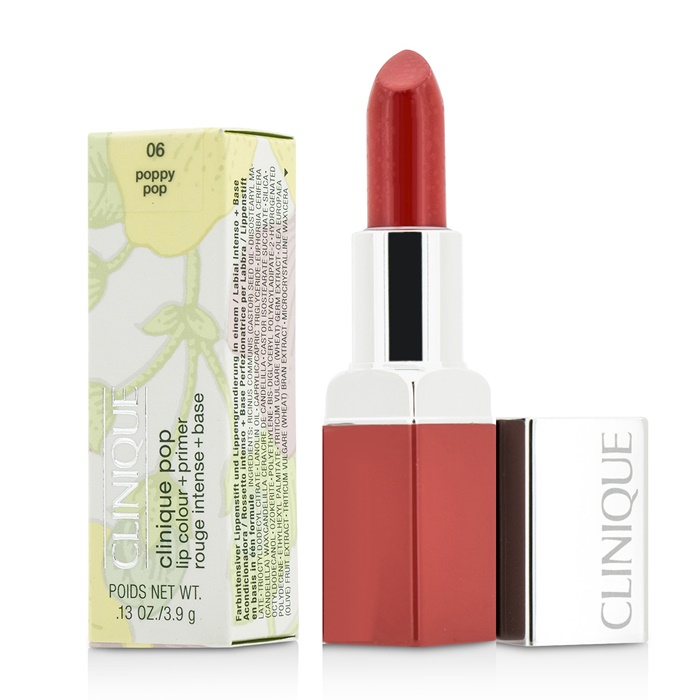Clinique Clinique Pop Lip Colour + Primer - # 06 Poppy Pop
