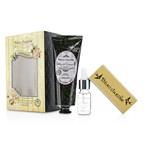 Heathcote & Ivory Beau Jardin Lavender & Jasmine Manicure Kit: Hand Cream 100ml/3.38oz + Cuticle Oil 10ml/0.33oz + Nail Buffer