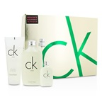 Calvin Klein CK One Coffret: EDT Spray 100ml/3.4oz + EDT 15ml/0.5oz + Body Wash 100ml/3.4