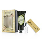 Heathcote & Ivory Beau Jardin Citrus Grove Manicure Coffret: Hand Cream 100ml/3.38oz + Cuticle Oil 10ml/0.33oz + Nail Buffer