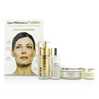Peter Thomas Roth Un-Wrinkle Kit: Peel Pads 20pads + Turbo Face Serum 15ml/0.5oz + Night Cream 8g/0.3oz + Lotion 30ml/1oz