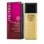 Shiseido Sheer & Perfect Foundation SPF 18 - # I00 Very Light Ivory
