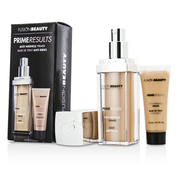 Fusion Beauty Prime Results Anti Wrinkle Set: 1x Anti Wrinkle Primer + 1x Mini Anit Wrinkle Primer
