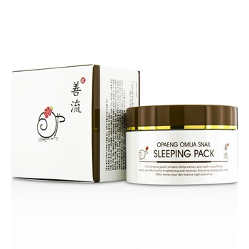 OPAENG Omija Snail Sleeping Pack