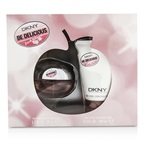 DKNY Be Delicious Fresh Blossom Coffret: EDP Spray 50ml/1.7oz + Body Lotion 100ml/3.4oz