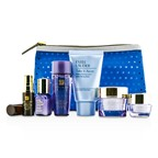 Estee Lauder Travel Set: Makeup Remover + Optimizer + Advanced Time Zone Cream + Perfectionist [CP+R]  + Eye Cream + Eye Serum + Bag