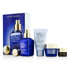 Estee Lauder Skintone/Spot Correction Set: Enlighten Serum 50ml + Creme 15ml + ANR Eye Complex II 5ml + Perfectly Clean 30ml
