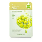 The Face Shop Real Nature Mask - Olive (Moisturizing & Nourishing)