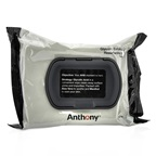 Anthony Logistics For Men Glycolic Exfoliating & Resurfacing Wipes