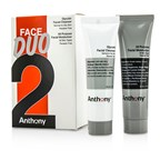 Anthony Logistics For Men Face Duo Kit: Glycolic Facial Cleanser 30ml + All Purpose Facial Moisturizer 30ml