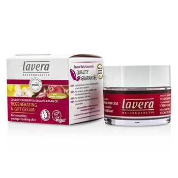 Lavera Organic Cranberry & Argan Oil Regenerating Night Cream