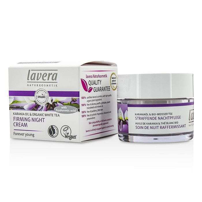 Lavera Karanja Oil & Organic White Tea Firming Night Cream