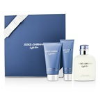 Dolce & Gabbana Homme Light Blue Coffret: EDT Spray 125ml/4.2oz + After Shave Balm 75ml/2.5oz + Shower Gel 50ml/1.6o