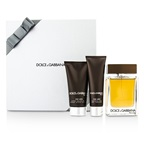 Dolce & Gabbana The One Coffret: EDT Spray 100ml/3.3oz + After Shave Balm 75ml/2.5oz + Shower Gel 50ml/1.6oz (Silver Box)