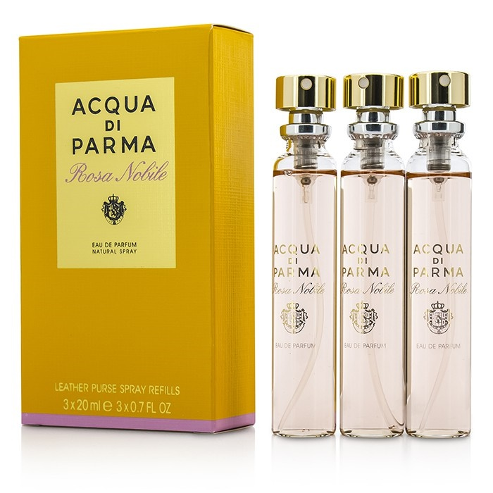Acqua Di Parma Rosa Nobile Leather Purse Spray Refills EDP