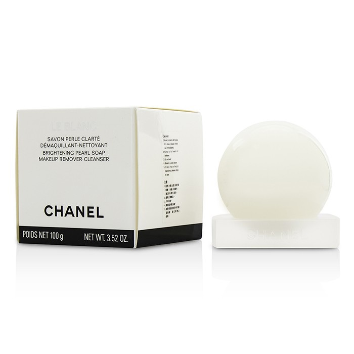 Chanel Le Blanc Brightening Pearl Soap Makeup Remover-Cleanser. Loading zoom 0f30c87ca920