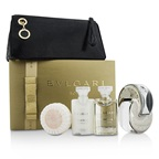 Bvlgari Omnia Crystalline Coffret: EDT Spray 65ml/2.2oz + Body Lotion 40ml/1.35oz + Shower Gel 40ml/1.35oz + Soap 50g/1.76oz + Pouch