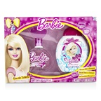 Air Val International Barbie Coffret: EDT Spray 100ml/3.4oz + Shower Gel & Shampoo 300ml/10.2oz