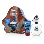 The Smurfs Papa Coffret: EDT Spray 100ml/3.4oz + Shower Gel 75ml/2.5oz + Key Chain