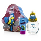 The Smurfs Smurfette Coffret: EDT Spray 100ml/3.4oz + Shower Gel 75ml/2.5oz + Key Chain