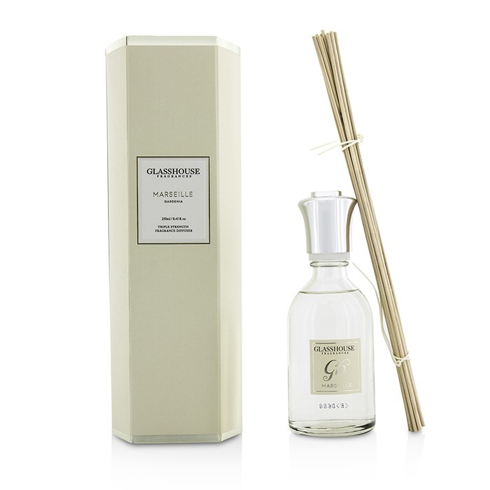Glasshouse Triple Strength Fragrance Diffuser - Marseille (Gardenia)
