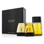 Loris Azzaro Azzaro Coffret: EDT Spray 100ml/3.4oz + Hair & Body Shampoo 75ml/2.6oz + After Shave Balm 75ml/2.6oz