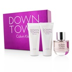 Calvin Klein Downtown Coffret: EDP Spray 90ml/3oz + Body Lotion 100ml/3.4oz + Shower Gel 100ml/3.4oz