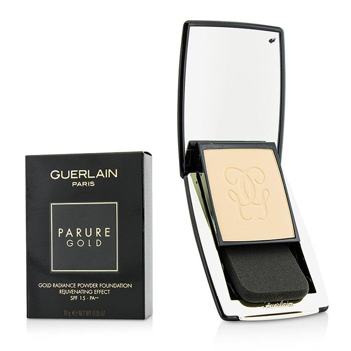 grande varietà selezione speciale di selezione speciale di Details about NEW Guerlain Parure Gold Rejuvenating Gold Radiance Powder  Foundation SPF 15