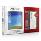 Shiseido UV Protective Powder Coffert: 1xUltimune Concentrate, 1xBio Performance EyeCream, 1x Compact Foundation - #SP60