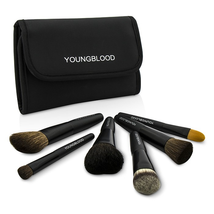 Youngblood Professional Mini 6pc Brush Set ... 43e7ae9831fd