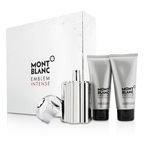 Montblanc Emblem Intense Coffret: EDT Spray 100ml/3.3oz + Shower Gel 100ml/3.3oz + After Shave Balm 100ml/3.3oz