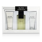 Alfred Sung Sung Coffret: EDT Spray 100ml/3.4oz + Body Lotion 75ml/2.5oz + Shower Gel 75ml/2.5oz