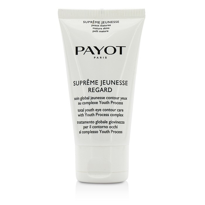 Payot Supreme Jeunesse Regard Youth Process Total Youth Eye Contour Care - For Mature Skins - Salon Size