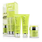 Rodial Super Acids Kit - 3 Step At Home Peel: Peel 50ml/1.7oz + Mask 75ml/2.5oz + Scrub 75ml/2.5oz