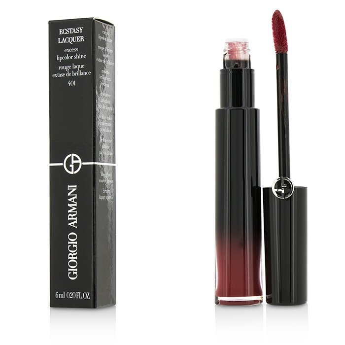 Giorgio Armani Ecstasy Lacquer Excess Lipcolor Shine - #401 Red Chrome