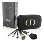 Christian Dior Backstage Brushes Professional Travel Brush Set (Powder, Fluid Foundation, Eyeshadow, Eyeliner, Lip)