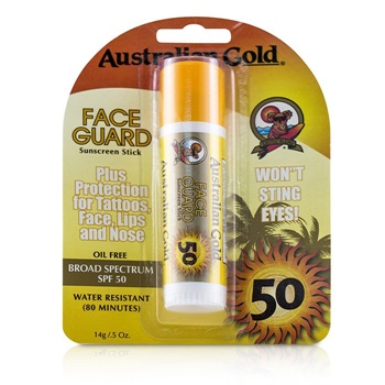Australian Gold Face Guard Sunscreen Stick Broad Spectrum SPF 50