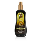 Australian Gold Spray Gel Sunscreen Broad Spectrum SPF 15 with Instant Bronzer